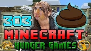 Minecraft: Hunger Games w/Mitch! Game 303 - POOP!