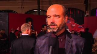 "Big Hero 6: Scott Adsit ""Baymax"" Red Carpet Movie Interview"
