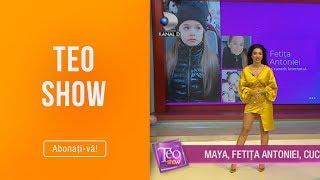 Teo Show (01.03.) - Larisa Udila, noutati mondene! Maya, fetita Antoniei, a cucerit inter ...