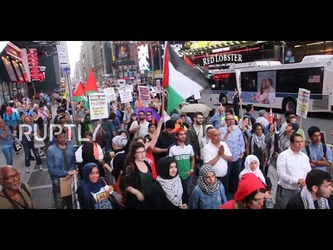 USA: NYC's Al-Quds day commemoration disrupted by pro-Israeli activists