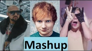 Ed Sheeran / Sia / Sean Paul: Shape of you / Cheap Thrills (MASHUP) remix (Lyric)