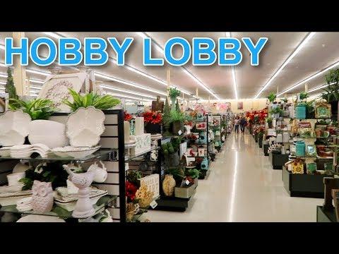 Hobby Lobby ОЧЕНЬ ДЕТАЛЬНЫЙ обзор магазина для рукоделия и дома - США - FloridaSunshine