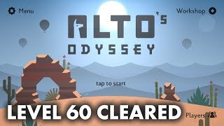 Alto's Odyssey - Final Level 60 Goals and Walkthrough