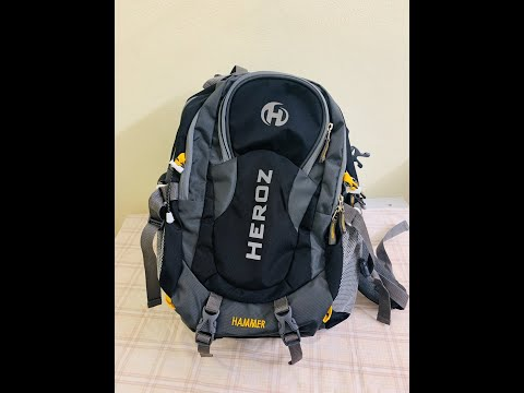 HEROZ Hammer Nylon 45 L Travel  Bag quick review ||. AMAZON