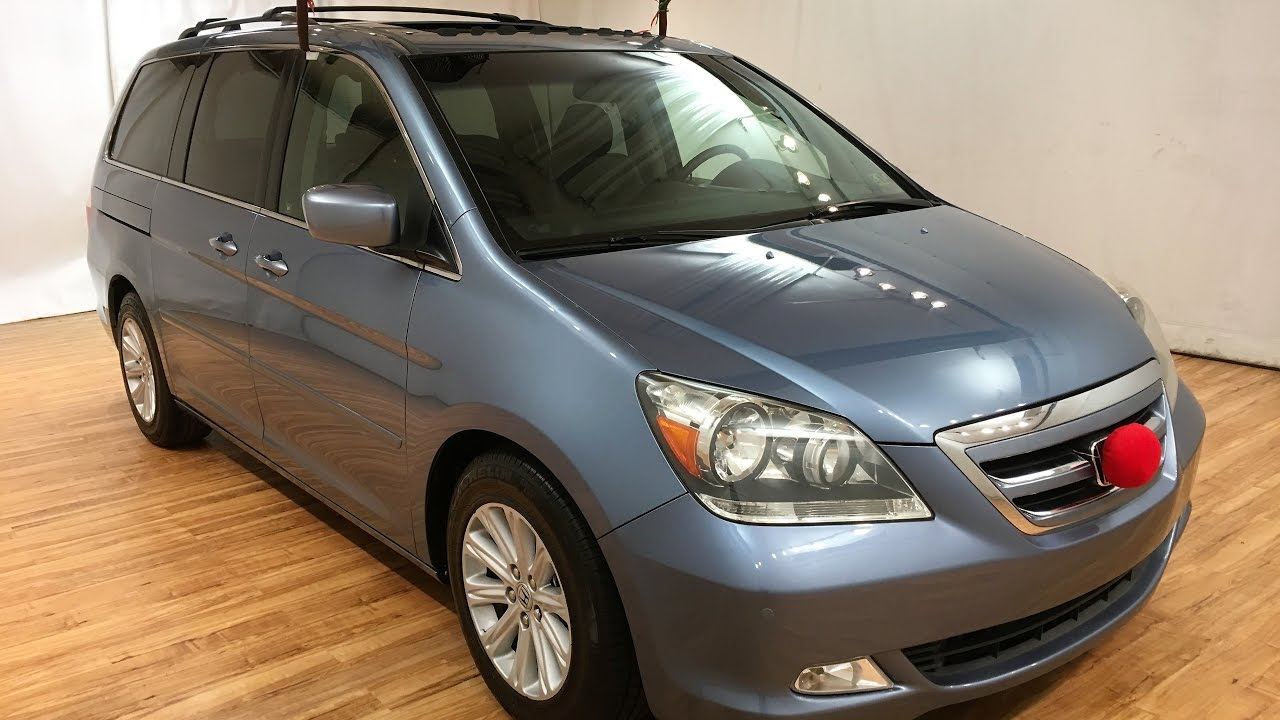 2006 honda odyssey touring nav leather sunroof rear cam carvision