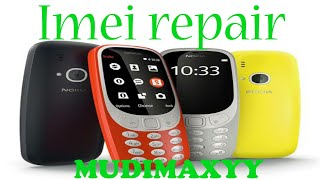 Nokia Ta-1030 /3310 Imei Repair Without Pc Mtk Clone
