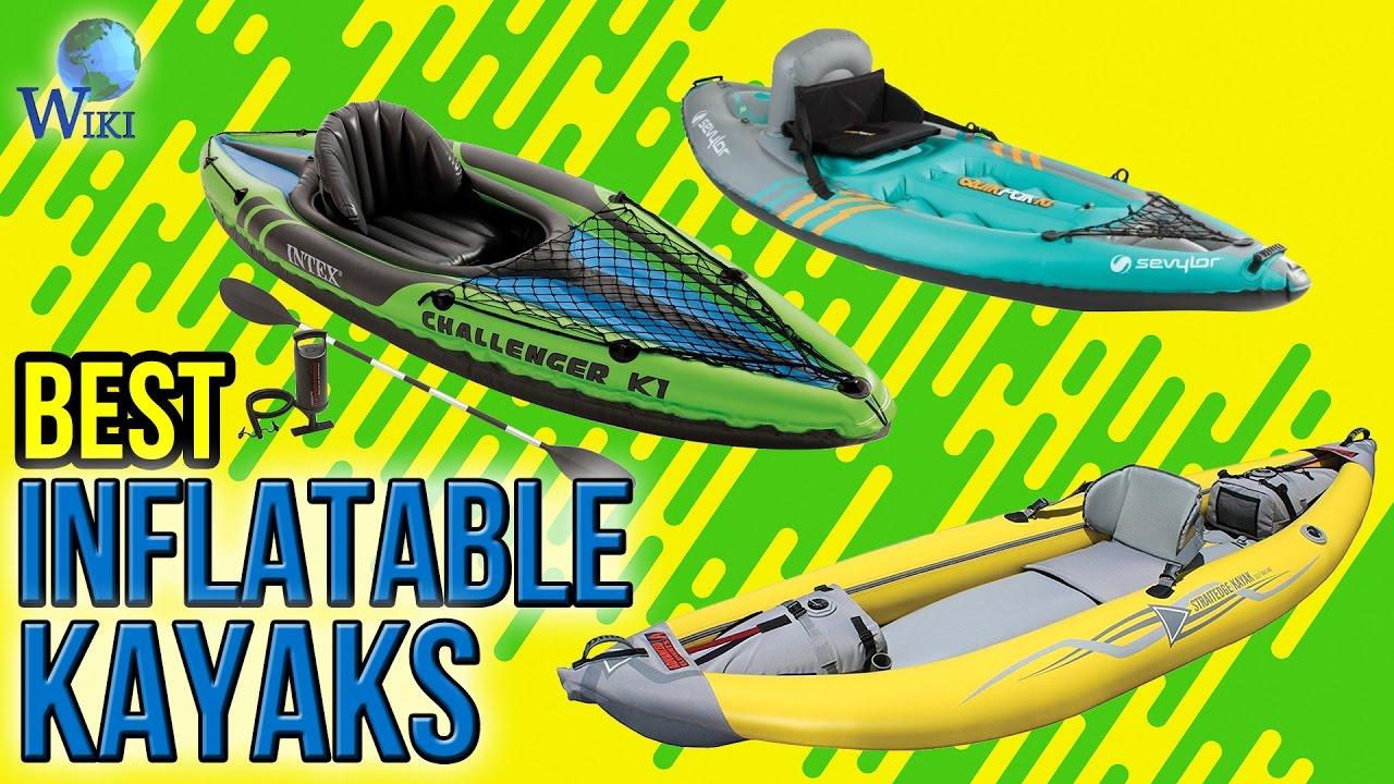 8 Best Inflatable Kayaks 2017