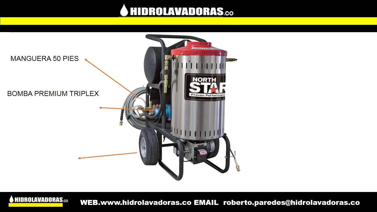 Hidrolavadora industrial maquina de vapor y agua caliente - Maquina a vapor para limpieza ...