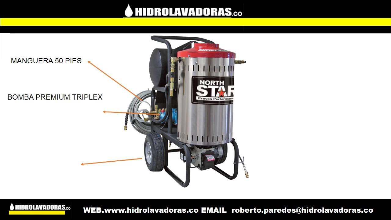 Hidrolavadora industrial maquina de vapor y agua caliente - Maquina de agua ...