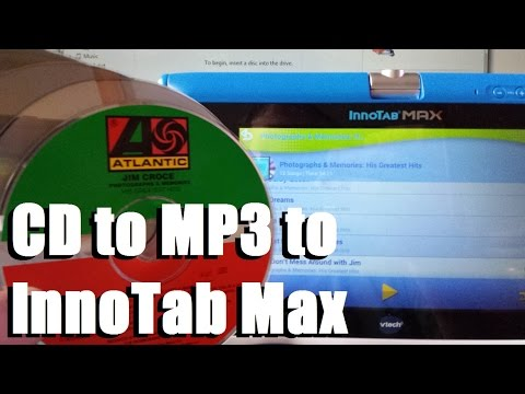 CD to MP3 to InnoTab Max the Easy Way