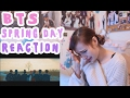 BTS - SPRING DAY (봄날) MV Reaction Video | ShubAdventures