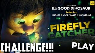 Good Dinosaur! Firefly Catcher Poki Challenge