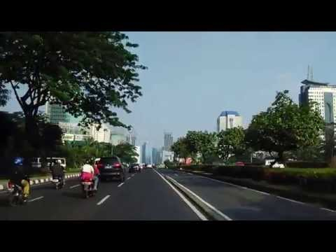 Driving In Jakarta, Indonesia