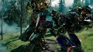 Битва в лесу и смерть Оптимуса Прайма | Трансформеры : Месть падших | HD