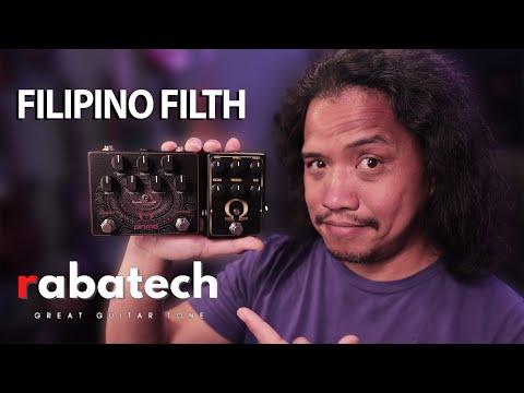 FILIPINO DIRT! Rabatech Omega Drive | Omega Prime Distortion Pedals FULL DEMO