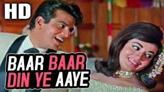 Baar Baar Din Ye Aaye | Mohammed Rafi | Farz 1967 Birthday Songs| Jeetendra, Babita