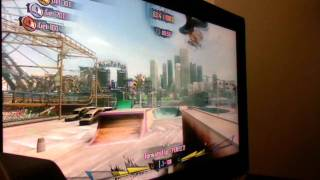 Shaun White Skateboarding Gameplay Xbox 360