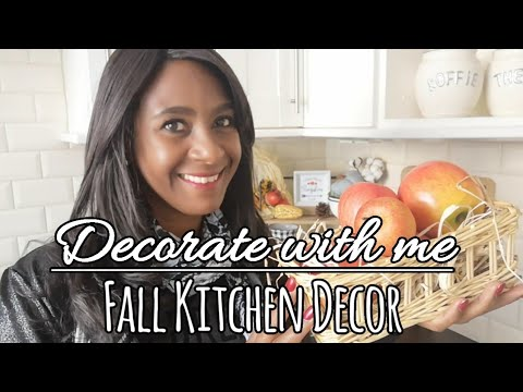 FALL KITCHEN DECOR | DECORATE WITH ME | COZY UP FOR FALL