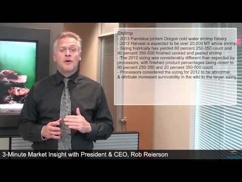3-Minute Market Insight EP111 - 2013 Forecast for Sockeye Salmon & Shrimp Fisheries