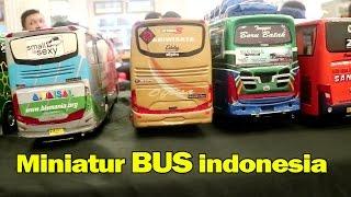 Download Ratusan Miniatur Bus Ternama Indonesia, Mirip Aslinya (Rosalia Indah, Harapan Jaya, Scania,SHD dll)