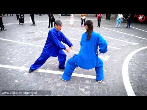 Taijiquan & Health Qigong Flash Mob, Ljubljana, Slovenia, May 2017