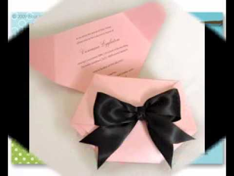 Diy Creative Baby Shower Invitation Decorating Ideas Youtube