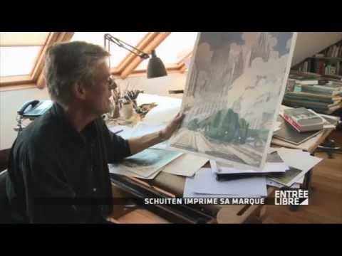 """François Schuiten : BD """"La Douce"""" - Entrée Libre"""