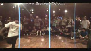 BreakerNYC.com--Breakers Delight--Cypher Teknyc vs. Kid Glyde