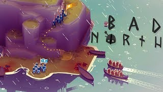 Bad North - Full Elite Army! - Dangerous Viking Warzone - Bad North PC Gameplay