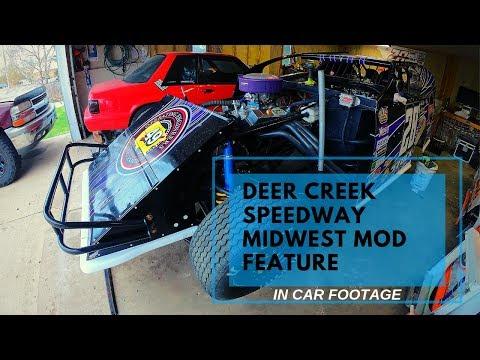 Spencer Stock Deer Creek Speedway Wissota Midwest Modifed 5/4/19