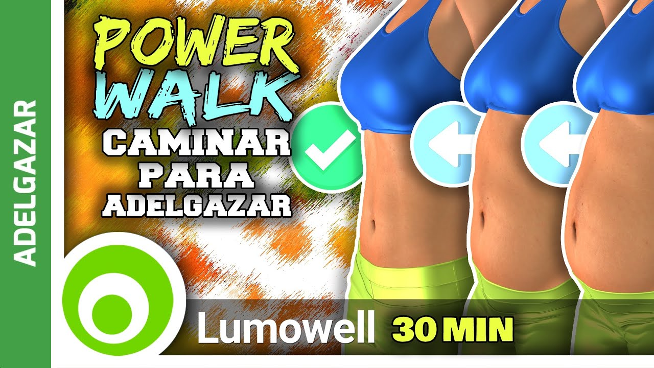 caminar para bajar de peso en casa rutina de power walk