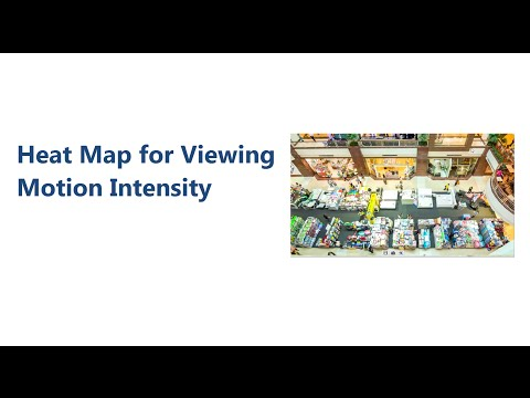 GeoVision - Heat Map for Motion Intensity and Crowd