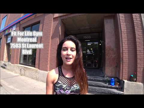 Top Gyms In Montreal Fit For Life Gym Tour It Is A 24hr GYM