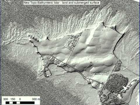 On Shore and Off Shore Lidar: Detailed Topography and Geoscience Applications