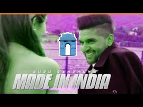 made-in-india-lagdi-guru-randhawa-new-2018-song