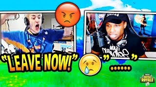 NINJA YELLS AT STREAMER FOR SWEARING ON HIS STREAM! *TRIGGERED!* Fortnite EPIC & FUNNY Moments