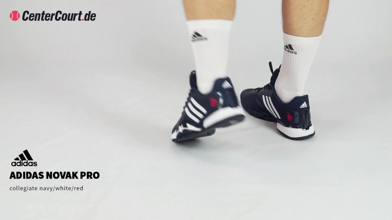 huge discount e0e0d 74301 adidas Novak Pro TEnnisschuh für Herren (dunkelblau). CenterCourt.de