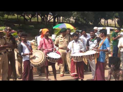 Huli vesha, Pili nalike, Tiger dance in bangalore 4K