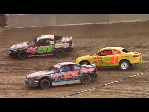 Mini Stock Heat Two | Old Bradford Speedway | 8-13-17