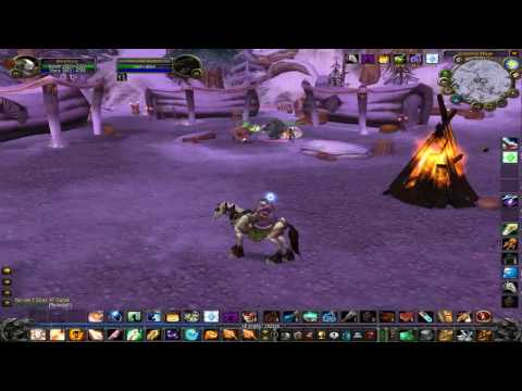 World Of Warcraft - Anethema Vanilla - 58-59 - Winterspring Questing Pt.2-  Priest - Horde