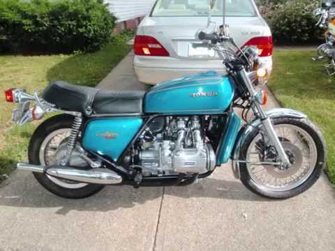 1975 gi1000 gold wing wiering honda goldwing gl1000 restored motorcycle from 1975 - youtube