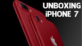 iPHONE 7 VERMELHO: UNBOXING E COMENTÁRIOS