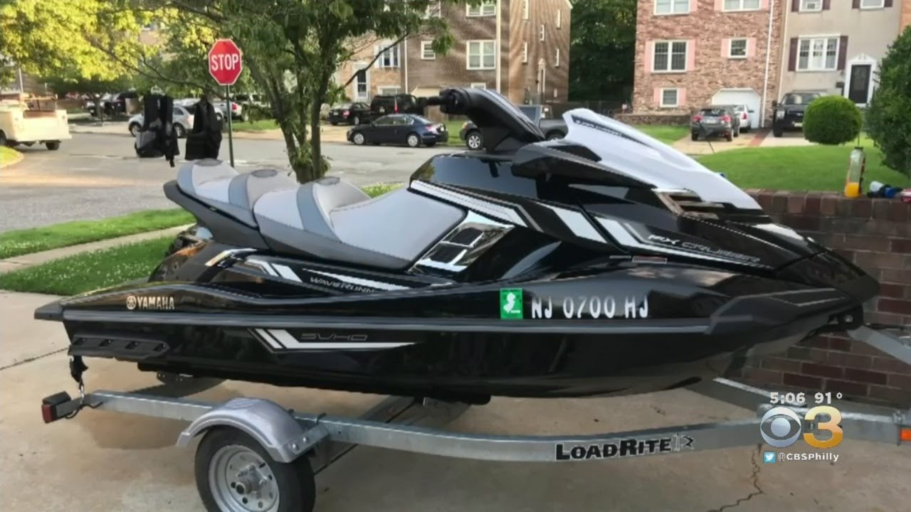 Thieves Targeting WaveRunners In Gloucester Township