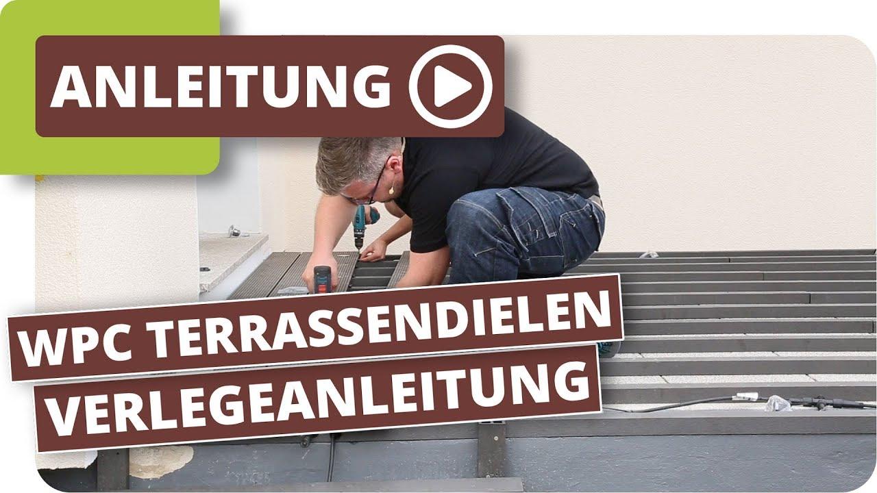 Wpc Terrassendielen Auf Alten Betonplatten Verlegen - Terrasse