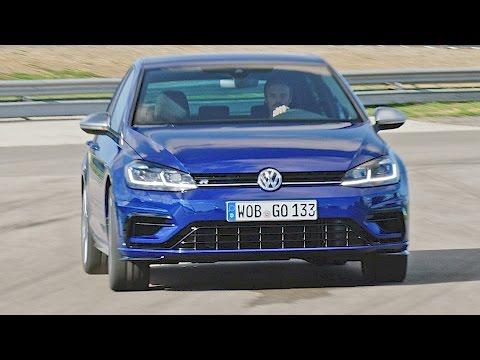 VW Golf R (2017) Test Drive on Racetrack [YOUCAR]