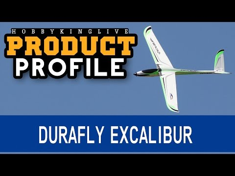 Durafly Excalibur High Performance 1600mm V-Tail Glider - Product Profile - HobbyKing Live