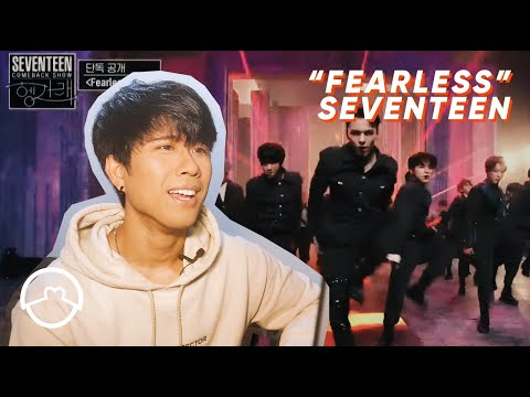 """performer-react-to-seventeen-""""fearless""""-live-performance"""