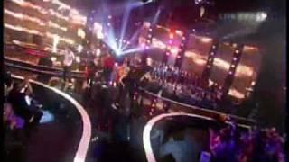Gruppensong der letzten 9 Kandidaten- Latino Medley - Starmania 4 - 4.Finalshow