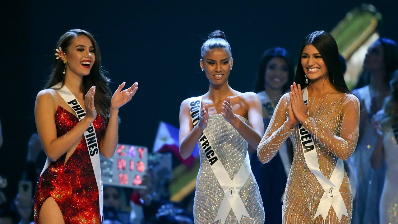Miss Universe 2018 Top 3 Announcement and final Question and Answer