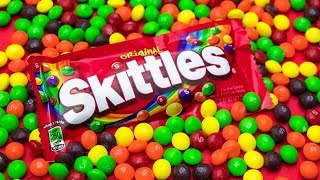 Skittles sent us 7,000 skittles. Here's what we did with it